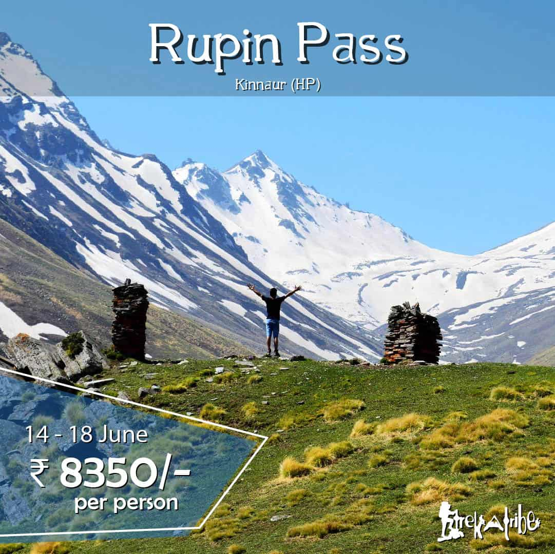 Rupin Pass Trek - high altitude trek in kinnaur