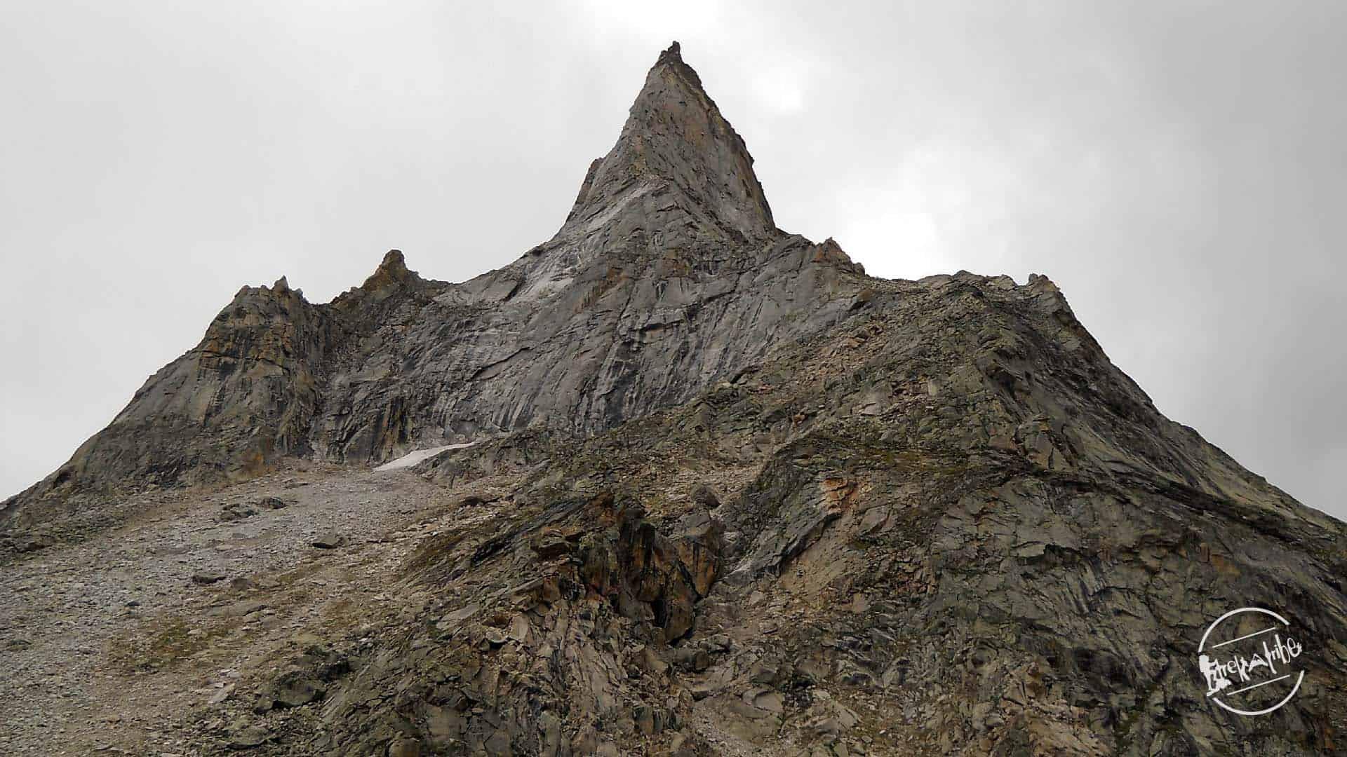 neekanth mahadev trekking - view of kailash peak