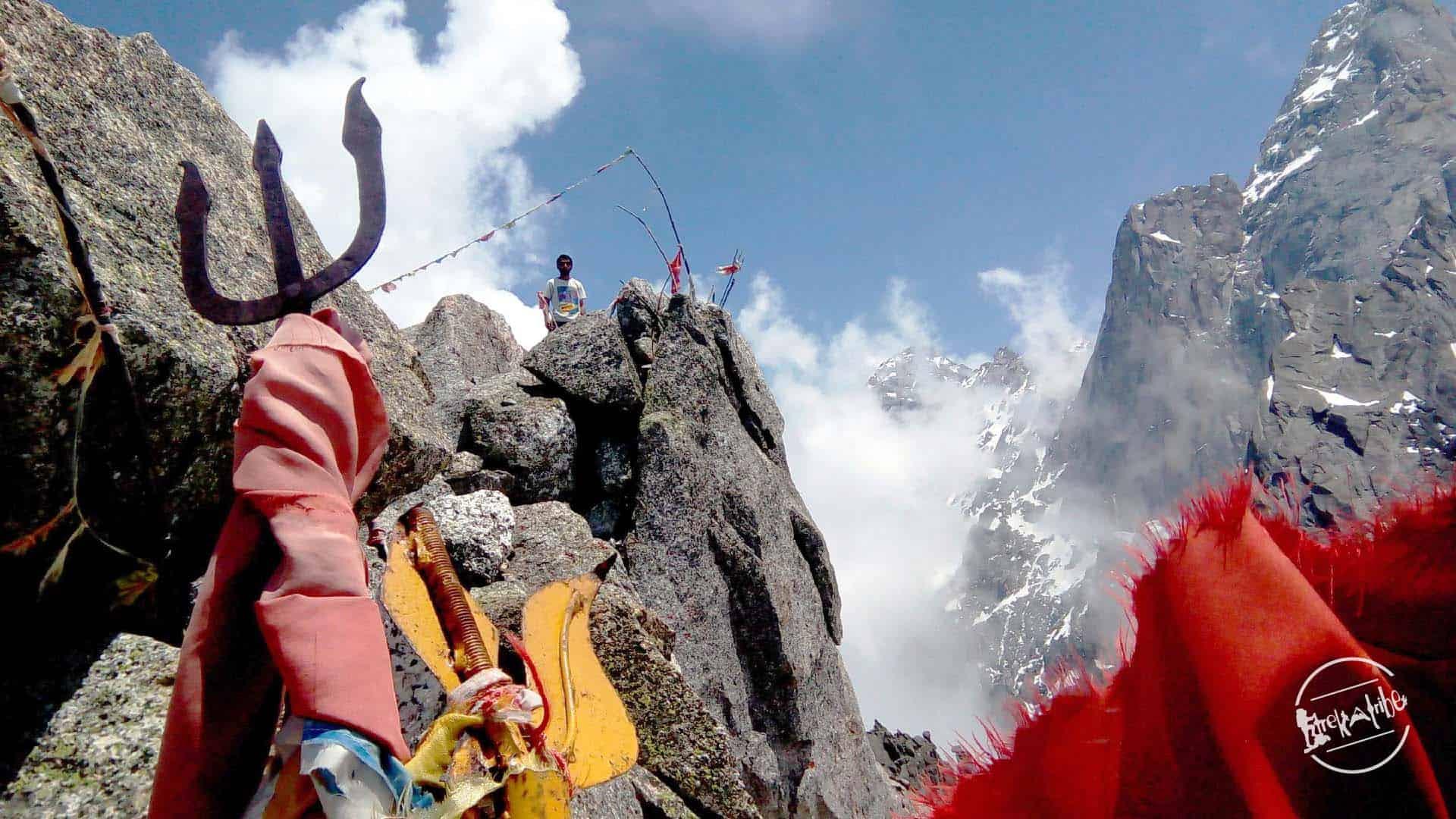 trek length of kinner kailash trek - 34 km