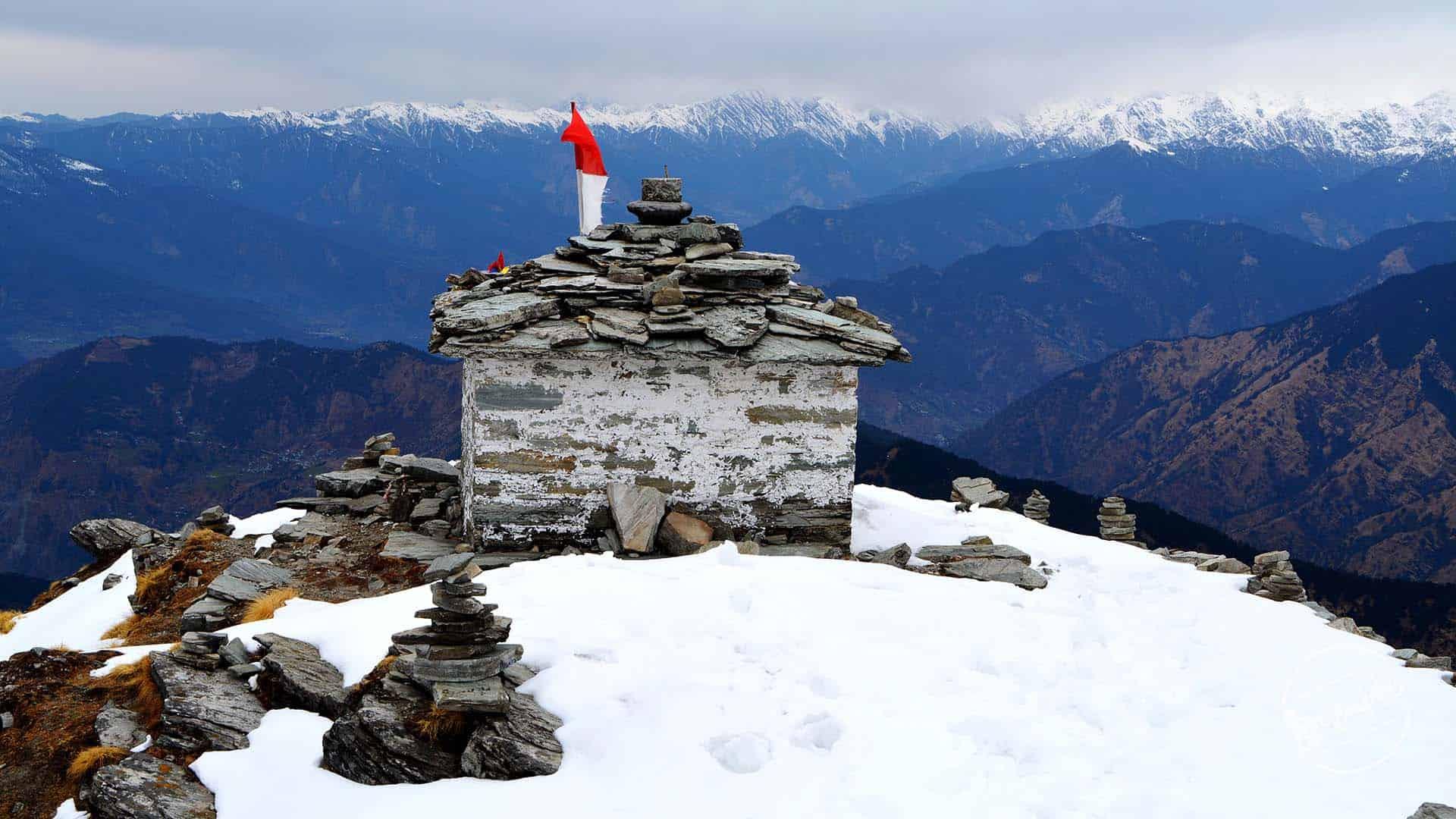 Chandershila Trekking - Chandershila Peak Top