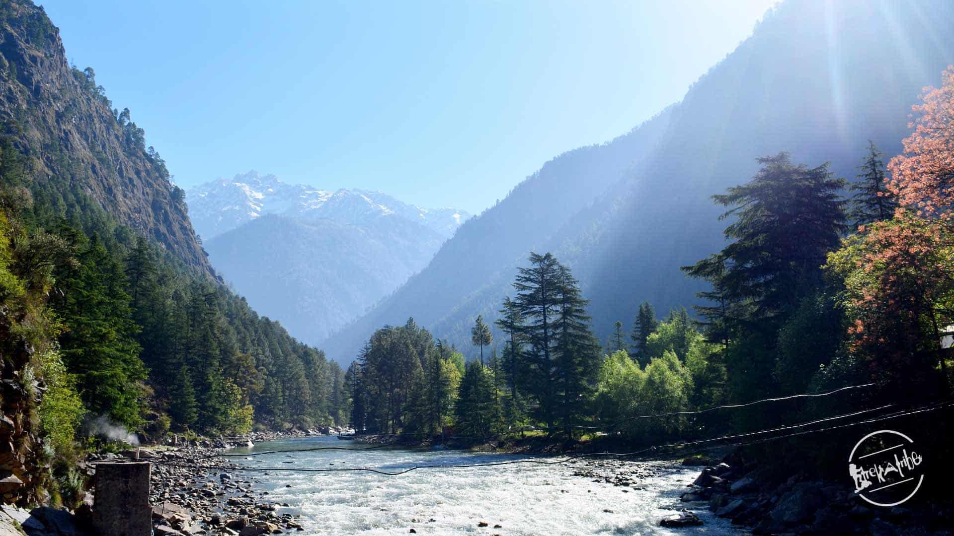 Parvati Valley Trek - Parvati river