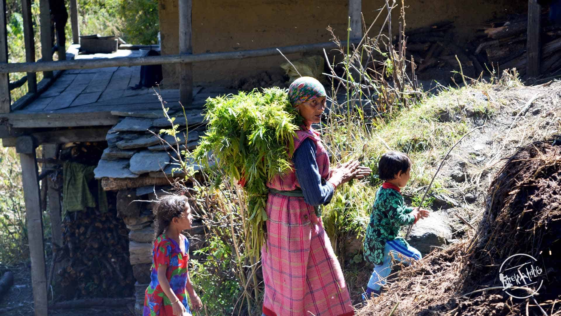 Local villagers of Parvati Valley