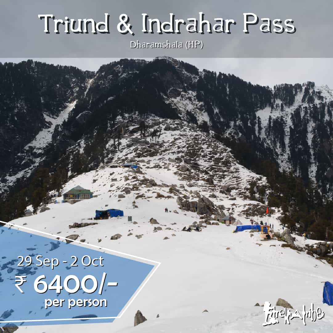 Triund & Indrahar Pass Trek