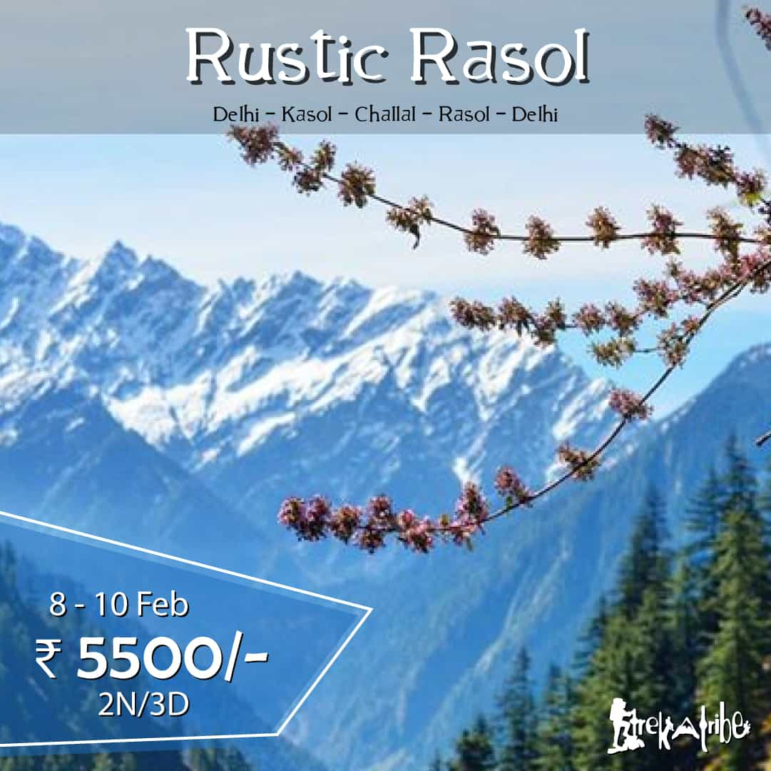 rasol trek - parvati valley trek
