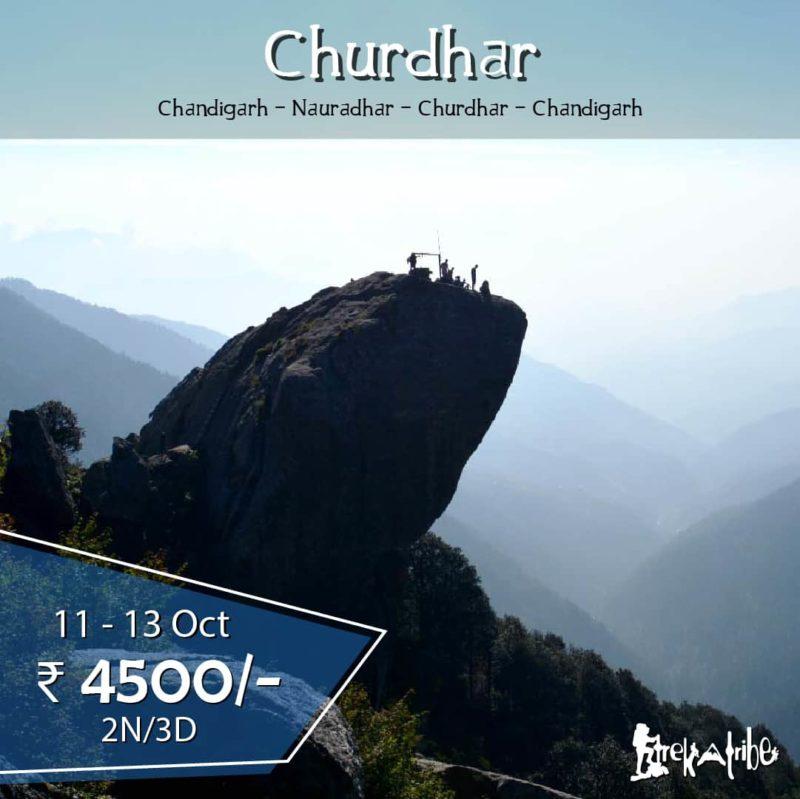 Churdhar trek october batch
