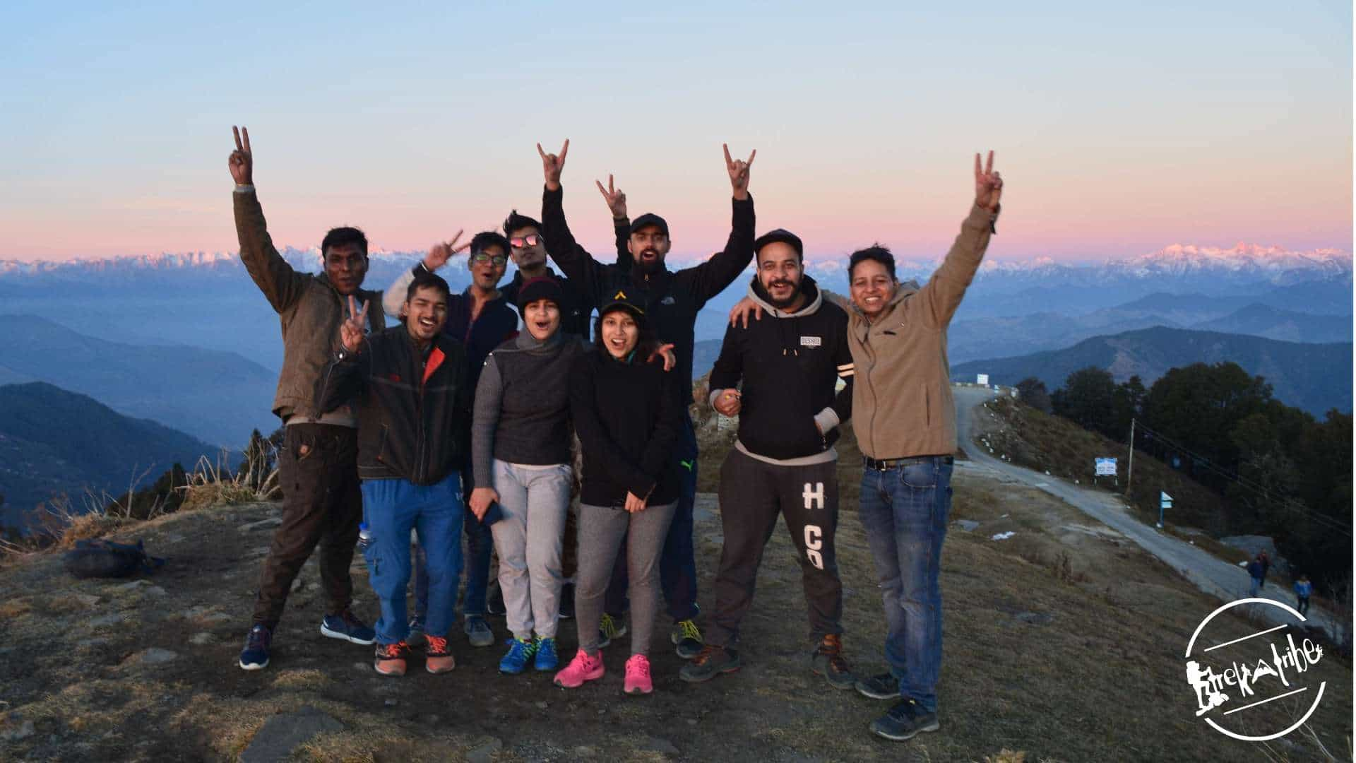 Hatu peak trek in Shimla