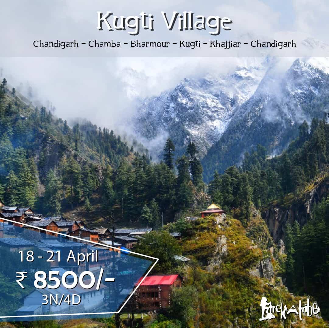 Kugti Village trek - Chamba