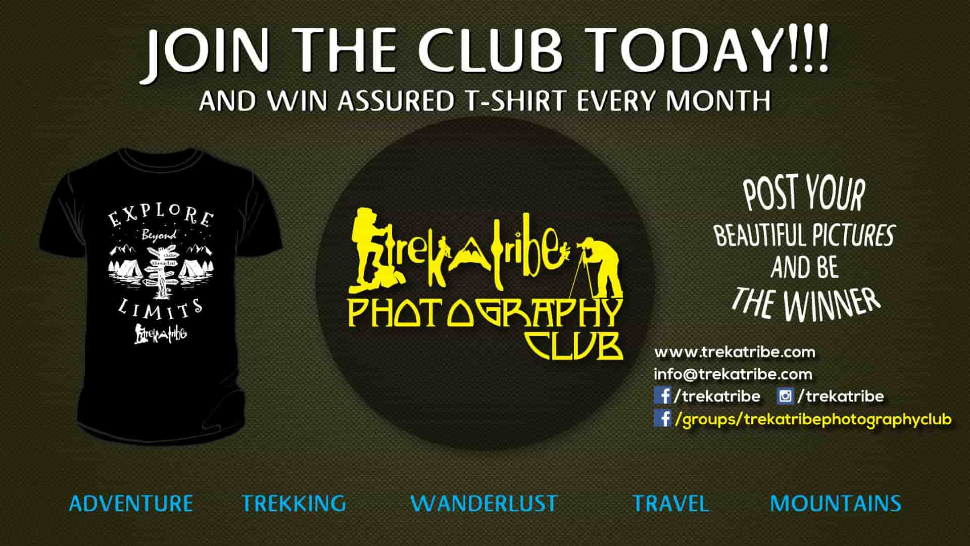 Trekatribe photography club - Facebook monthly photography competition