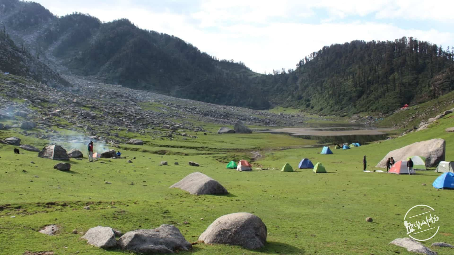kareri lake trek camping