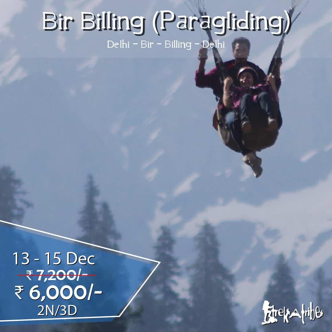 Bir Billing trek & paragliding