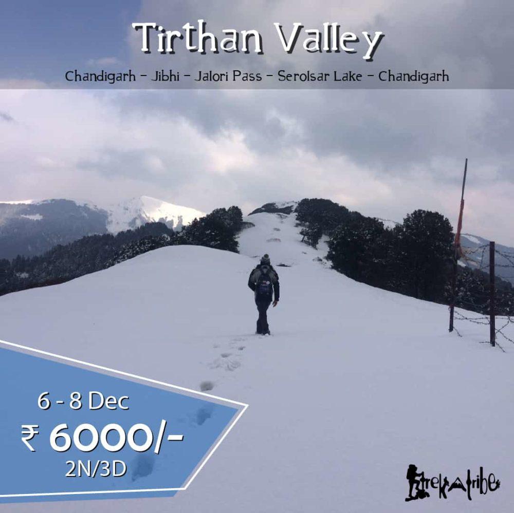Tirthan Valley & Serolsar Lake Trek