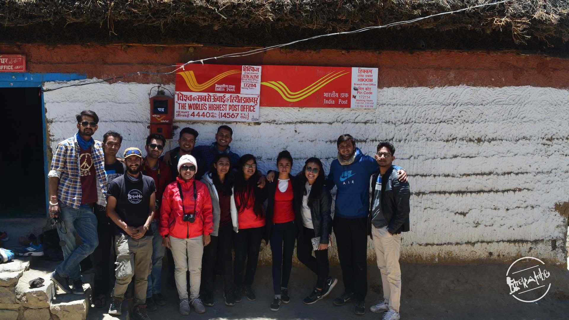 hikkim - worlds highest post office