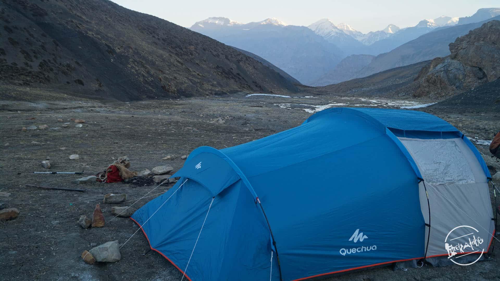 Kanamo peak expidition - camping