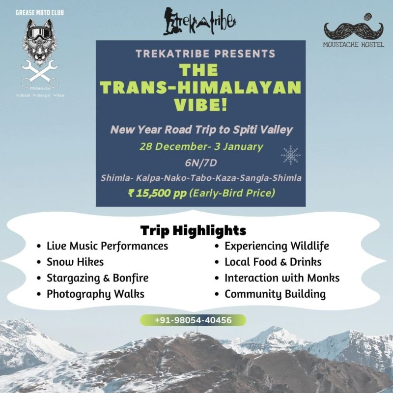New Year Road Trip to Spiti Valley