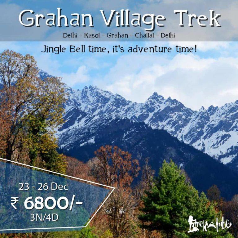 Grahan Village Trek at Christmas Eve