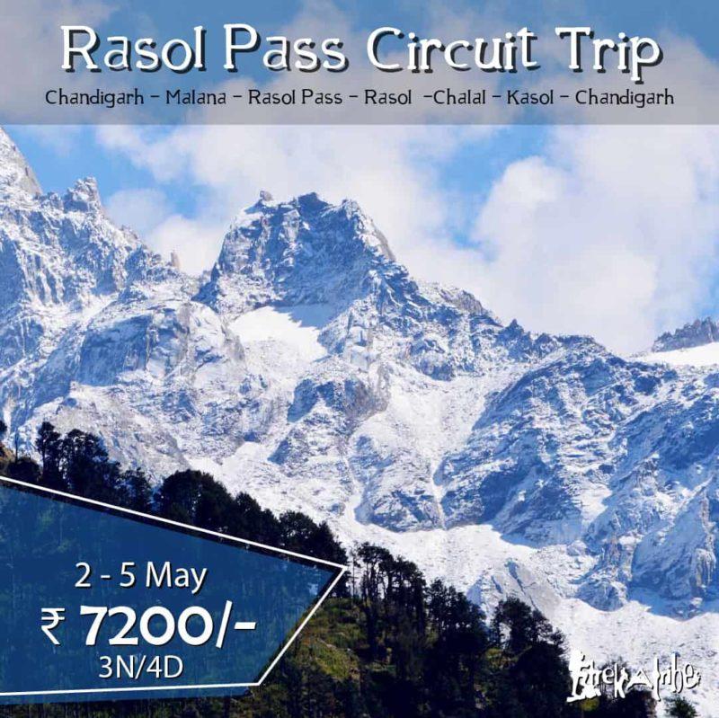 Rasol Pass Circuit Trip - Parvati Valley