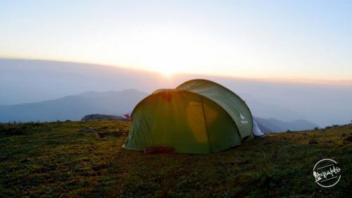 CHURDHAR TREK Camping