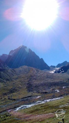 Sun Kissed Manimahesh Kailash Peak