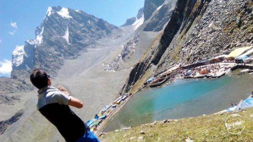 Spiritual Manimahesh Lake