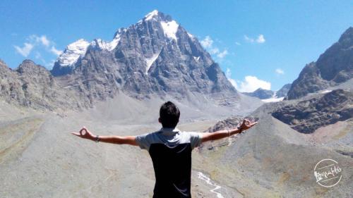 Enchanting Manimahesh Lake Peak