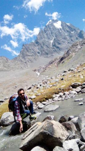 Manimahesh Kailash  Peak Hight 4,080 meters (13,390 ft