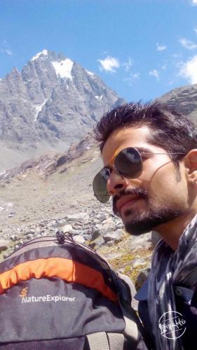 Camping near Manimahesh Kailash