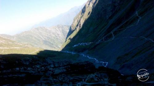 Trek to Manimahesh Lake