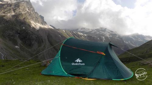 Camping at Rupin Pass