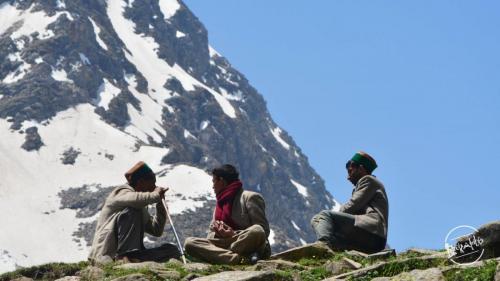 Locals Gaddis From Dodra Kwar, Shimla