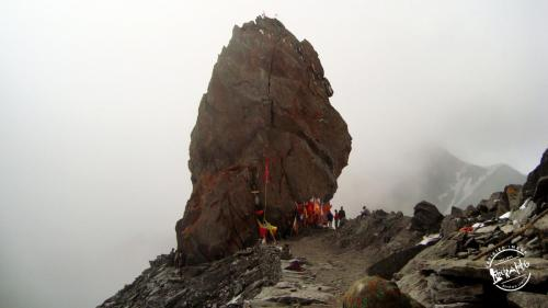 Shrikhand Mahadev Trek - Shivling