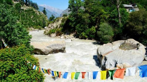Baspa river - Sangla