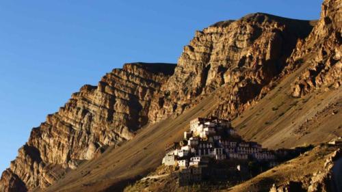 Key Monastery (Kye Gompa) Spiti valley, Himachal Pradesh
