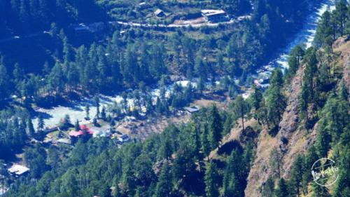 Parvati valley wilderness - Tosh village