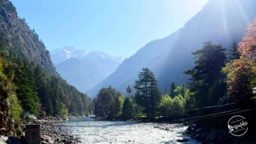 Parvati River - Parvati Valley