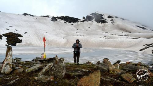 Bhrigu Lake Trek - Frozen Lake in Himachal Pradesh