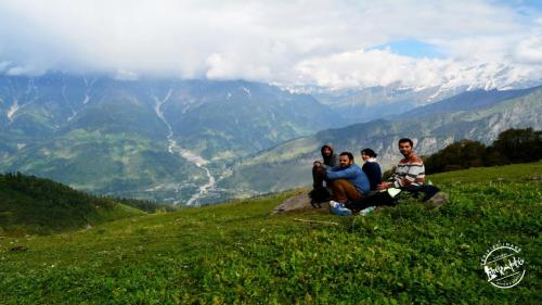 Bhrigu Lake Trekking - Time to rest