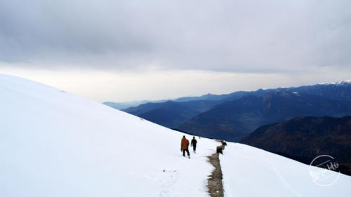 Descending Tungnath  Before Sunset