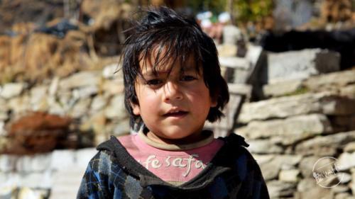 Village Children Of Uttarakhand