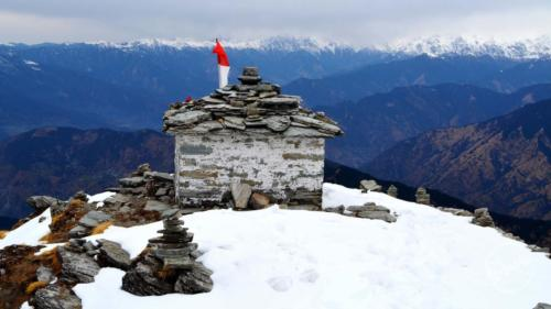 Chandrashila Peak Top