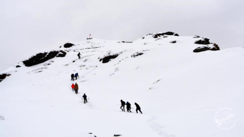 Chandrashila Peak Snow Trek