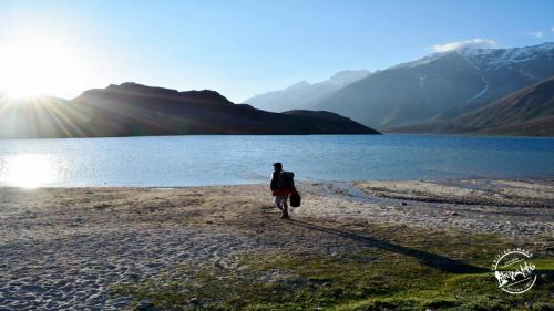 Trek to Chandertal Lake Via Hamta Pass