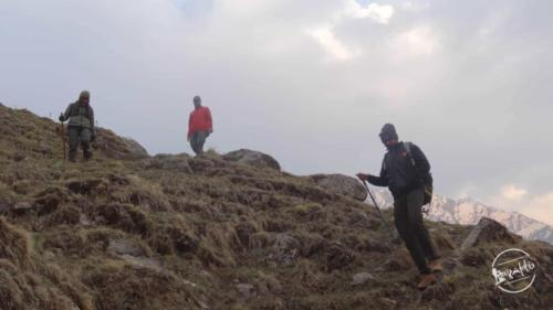 Yulla kanda - trekking back to camps