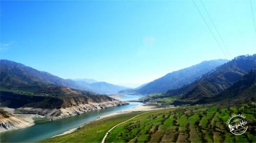 Tehri Dam - Tehri, Gharwal