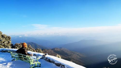 Panoramic 360º Himalayan View from Hatu Peak