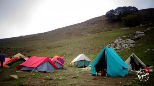 Hamta Pass Camping