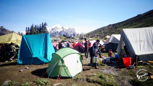 Camps At Hamta Pass