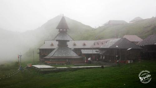 Prashar Lake Ancient Temple