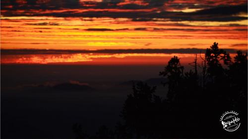 Shali Tibba - breathtaking  sunset
